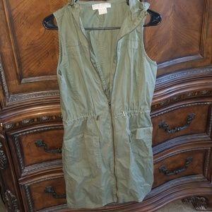 Adorable Michael Kors Safari Cargo Dress